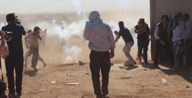 Kobani'ye geçmek isteyenlere sınırda saldırı