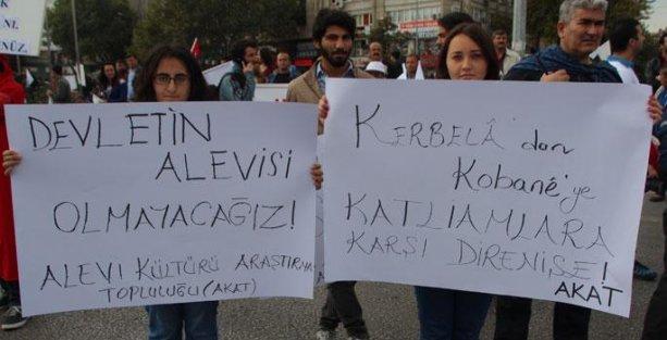 'Kobani'ye saldırı Alevilere de saldırıdır'