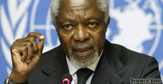 Kofi Annan Türkiye'yi eleştirdi