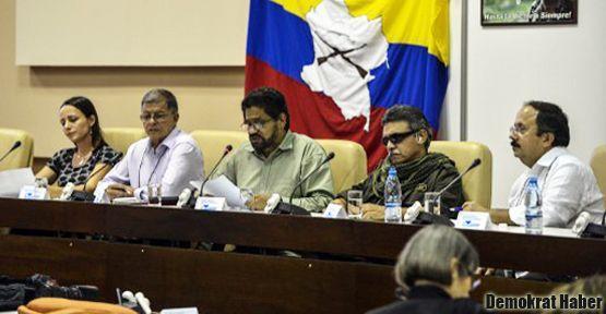 Kolombiya'da barış görüşmeleri 'hız kazandı'