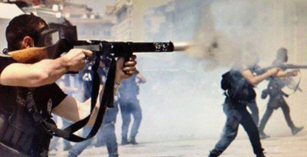 Komiserden garip savunma: 'Biber gazcı polis' doğrudan göstericileri hedef almaz