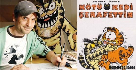 Kötü Kedi Şerafettin'in İmam Hatipli çizeri