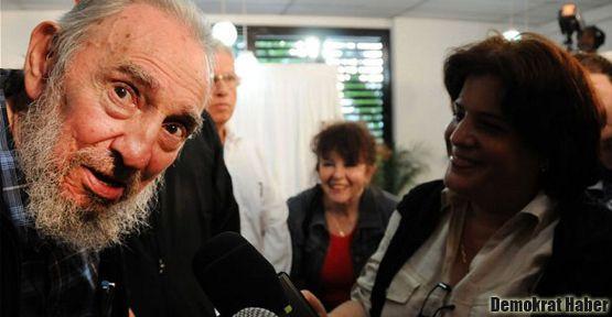 Küba'daki seçimde Castro da oy kullandı