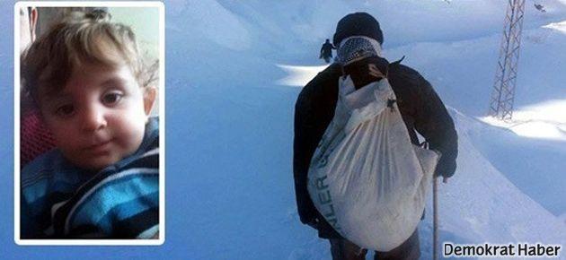 Küçük Muharrem öldü, kar yolu sonra açıldı