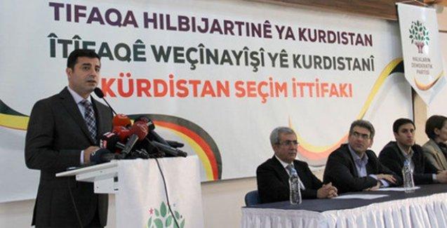 'Kürdistan seçim ittifakı' kuruldu