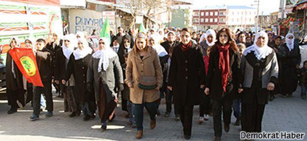 Kürdistan'da kadınlar Hüda-Par'ı protesto etti