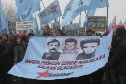 Kürecik'te füze kalkanı protestosu