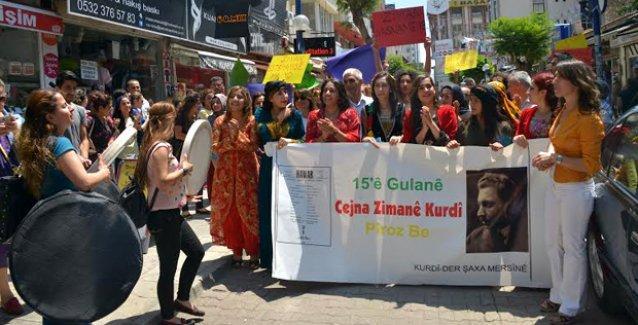 Kürt Dil Bayramı Mersin'de kutlandı