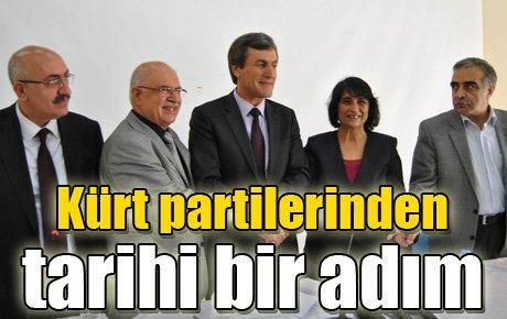 Kürt partilerinden tarihi bir adım