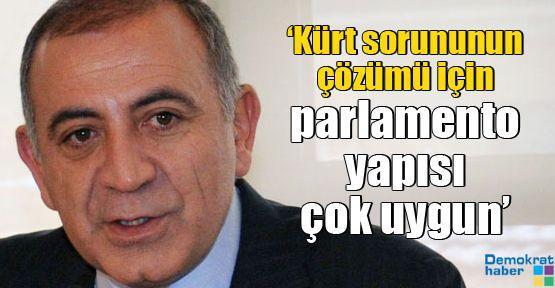 'Kürt sorununun çözümü için parlamento yapısı çok uygun'