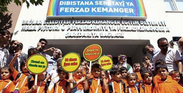 Kürtçe eğitim için resmi başvuru