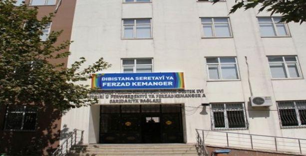 Kürtçe okula açılış töreni öncesi polis girmek istedi