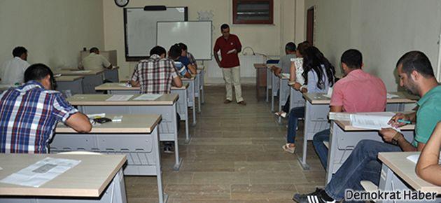 Kürtçe ve Süryanice yüksek lisans sınavına yoğun katılım