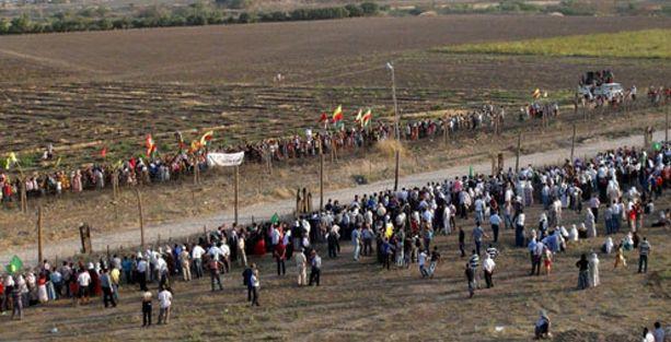 Kürtler Rojava sınırını geçmek için harekete geçti!