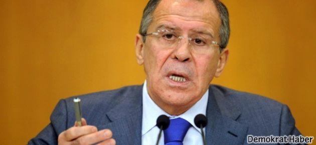 Lavrov: Esad'ın istifa şartı kabul edilemez!