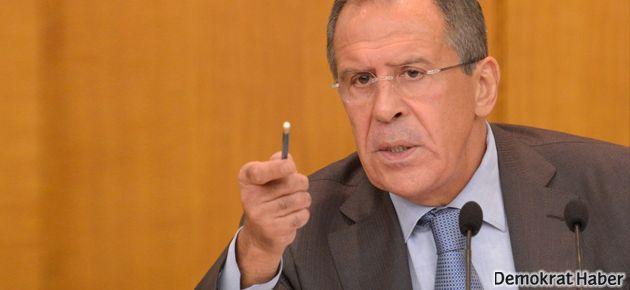 Lavrov: Suriye görüşmeleri sınırlandırılamaz
