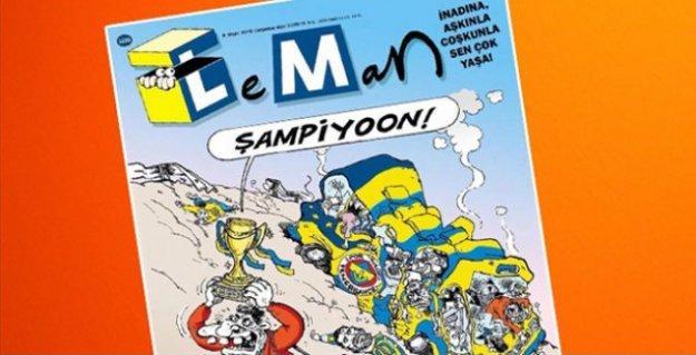 LeMan'a 'Fenerbahçe'ye saldırı' konulu kapağı için soruşturma