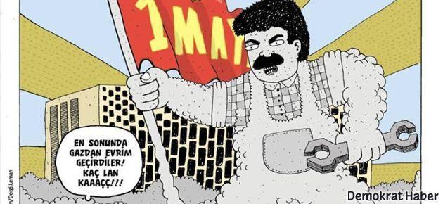 LeMan'dan 1 Mayıs kapağı