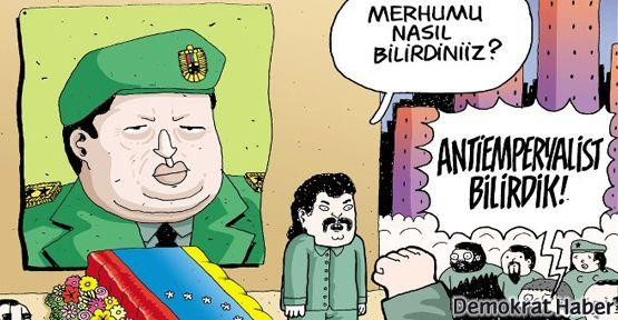 Leman'ın kapağında Commandante Chavez