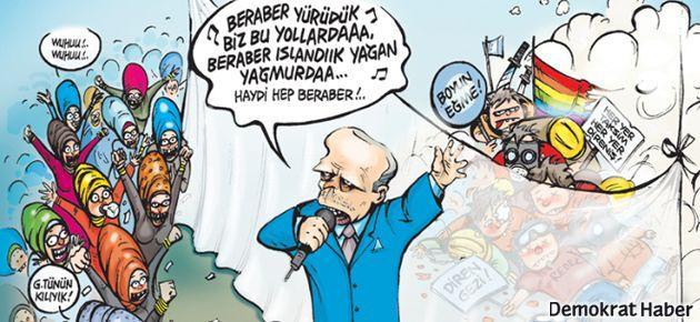 Leman'ın kapağında şarkıcı Erdoğan var