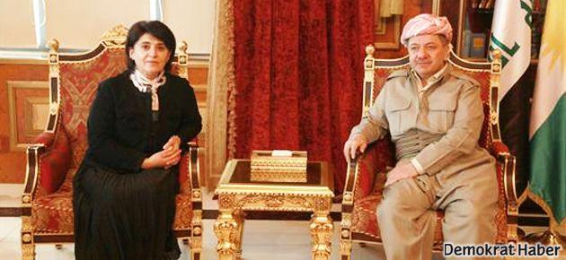 Leyla Zana Irak'ta Barzani ile görüştü