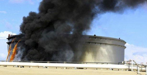 Libya'nın en büyük petrol limanına saldırı