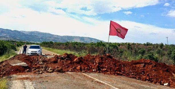 Lice'de 23 gündür süren yol kapama eylemine son verildi