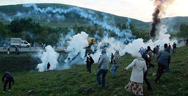 Lice'de jandarma tutanağı: Göstericiler birbirlerini vurdu!