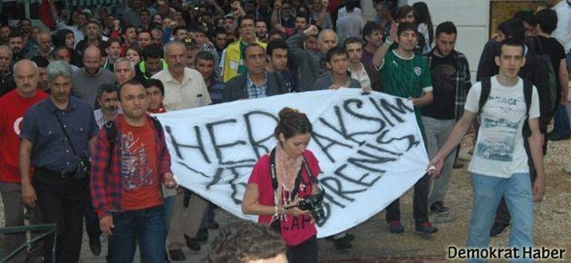 Lisede Gezi Parkı sınavı!