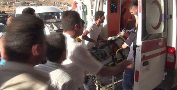 Lojman inşaatında çökme: 3 işçi yaralı