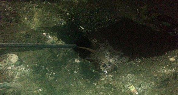 Madendeki suyu boşaltmak günlerce sürebilir!