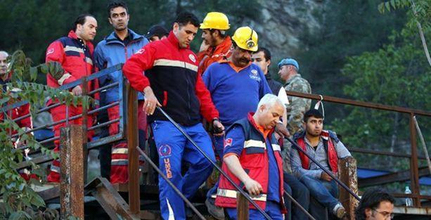 Madenin etrafı bariyerlerle çevriliyor