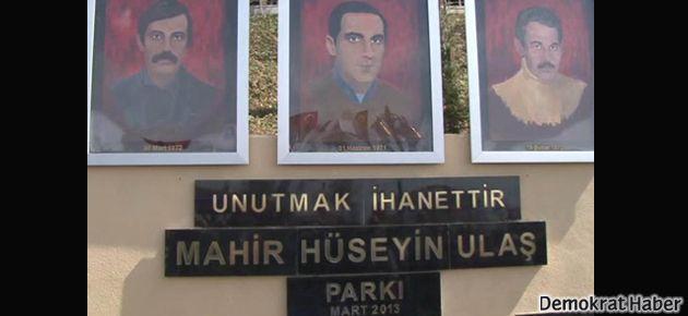 'Mahir, Hüseyin, Ulaş Parkı' açıldı