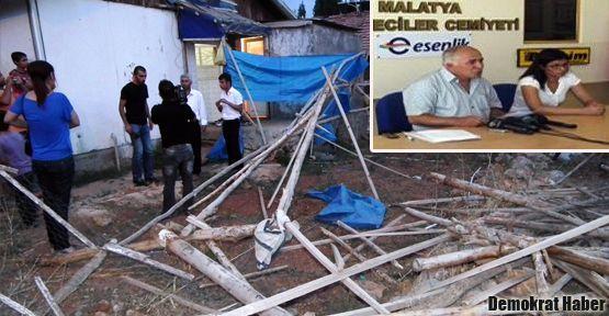 Malatya'daki Alevi aile hala tehdit altında