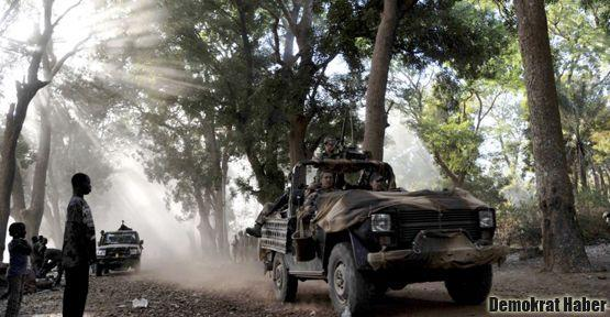 Mali'deki savaş kuzeye doğru yayılıyor