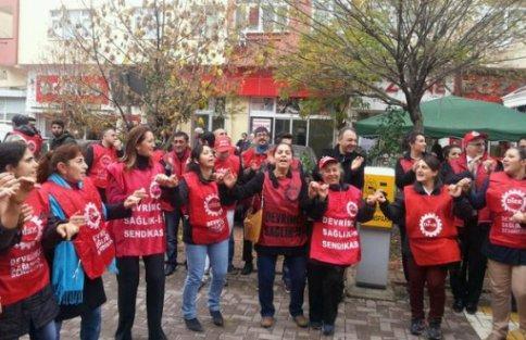 Maltepe Hastanesi'nde kadın işçilerin direnişi devam ediyor