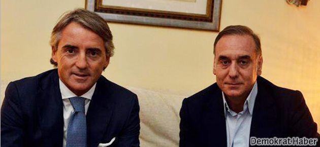Mancini resmen Galatasaray'da