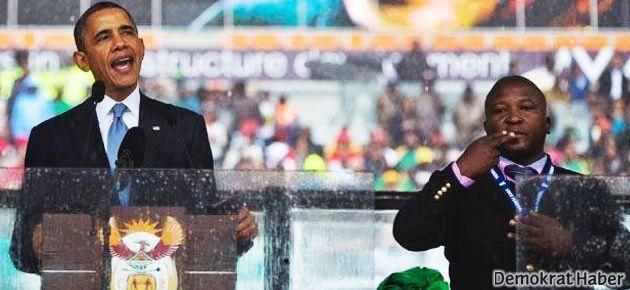 Mandela anmasındaki o 'tercüman' konuştu