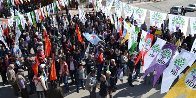 Maraş Valiliği'nden HDP'nin mitingine alan yasağı
