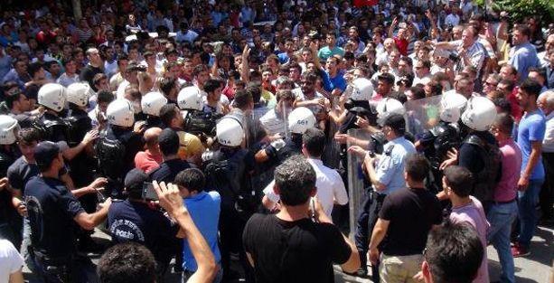 Maraş'ta 'Suriyelileri istemiyoruz' eylemi