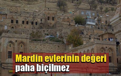 Mardin evlerinin değeri paha biçilmez