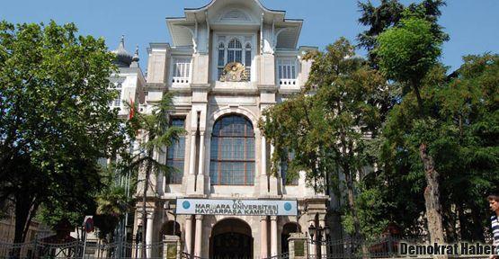 Marmara Üniversitesi de 'rektörü tanımıyoruz' dedi