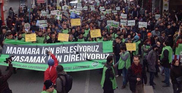 Marmara'yı savunanlar Kadıköy'de buluştu