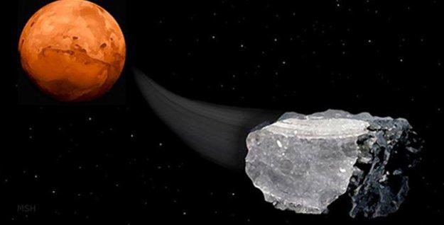Mars'ta 'ilkel yaşama işaret eden' metan izlerine rastlandı