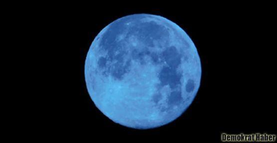 Mavi Dolunay yine göründü