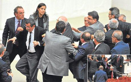 Mecliste AKP-BDP kapışması