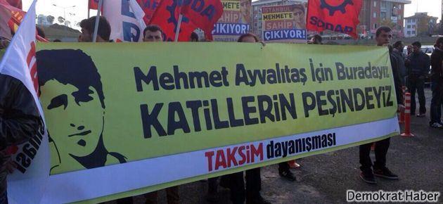 Mehmet Ayvalıtaş davasında biber gazlı müdahale