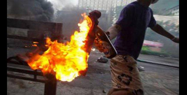 Meksika'da Coca Cola fabrikası ve polis merkezi yakıldı