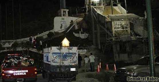 Meksika'da madende patlama