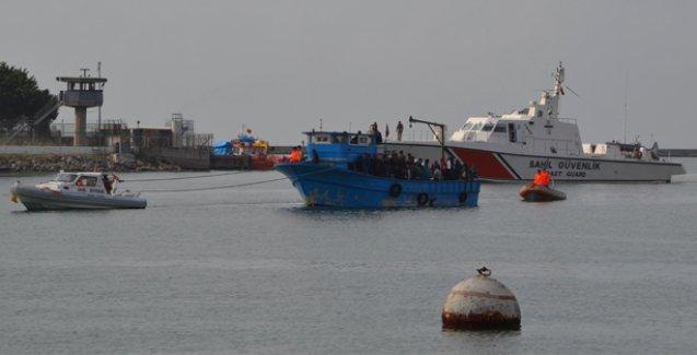 Mersin'de 171 göçmen kurtarıldı